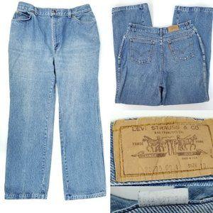 Vintage 70s Levis Orange Tab Mom Jeans 18 32x30